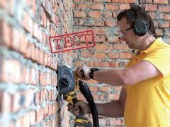 штраборез DeWALT DCG200
