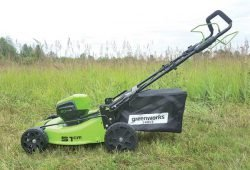 Greenworks GD60LM51SP газонокосилка цена