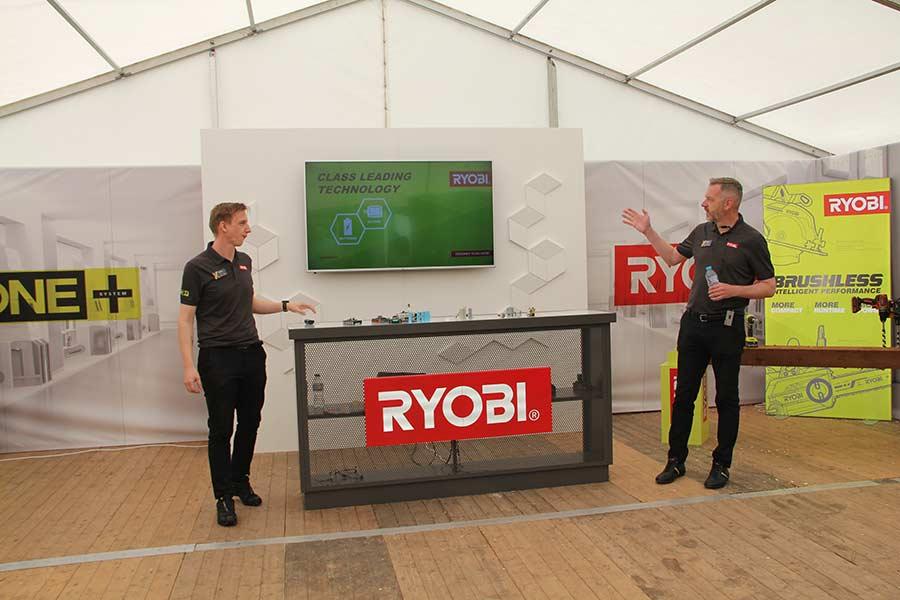 Конференция Ryobi 2019 Лондон One+ Lithium+ High Energy новости аккумуляторная 18 В система технология бесщеточный двигатель