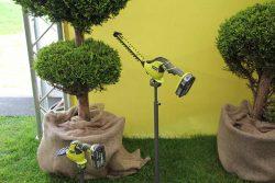 Конференция Ryobi 2019 Лондон OGS1822 One+ аккумуляторные 18 В ножницы для кустов травы