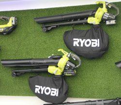 Конференция Ryobi 2019 Лондон OBV18 RBV36B аккумуляторные 18 36 В садовые пылесосы воздуходувки