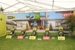Конференция Ryobi 2019 Лондон аккумуляторные газонокосилки