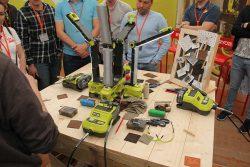 Конференция Ryobi 2019 Лондон One+ DIY гравер бор машинка