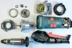 Метабо Metabo RFEV 19 125 RT шлифователь шлифовальная машина штукатурка фреза