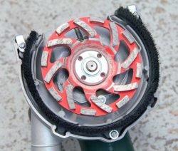 Metabo Метабо RSEV 19 125 RT шлифовальная машина бетон шлифователь алмазная чашка