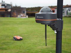 Husqvarna EPOS Automower газонокосилки роботы Хускварна технология