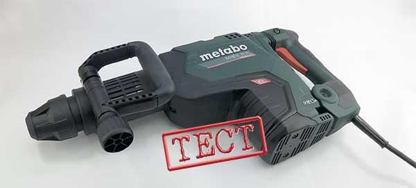 Metabo MHEV 11 BL отбойный молоток SDS Max сетевой бесщеточный двигатель