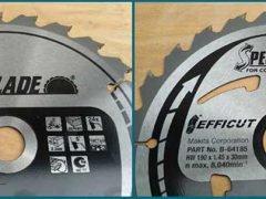 Makita Makblade Efficut пильные диски Макита DHS710Z аккумуляторная дисковая пила