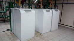 Каскад из трёх конденсационных котлов Baxi Power HT 1.320