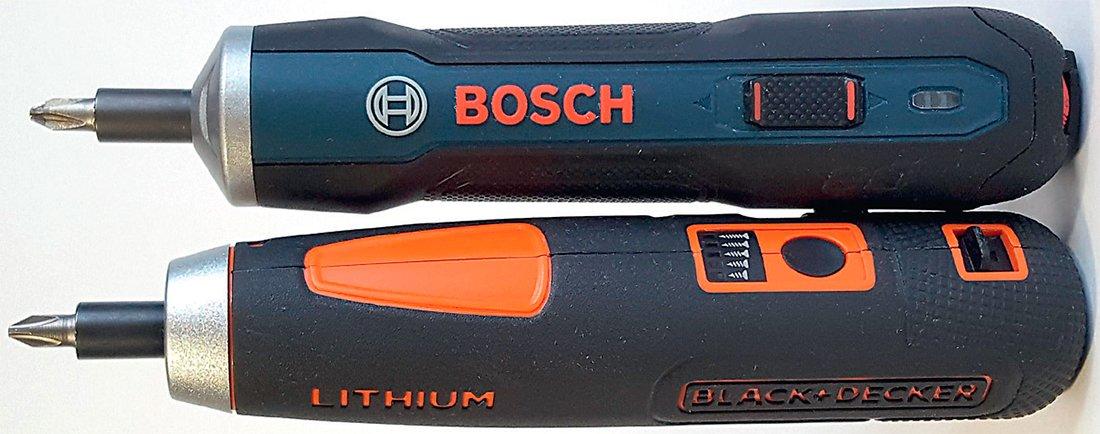 Тест Bosch Go Black Decker BD40 аккумуляторная отвертка шуруповерт