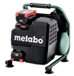 Компрессор аккумуляторный Metabo Метабо Power 160 5 18 LTX BL OF бесщеточный двигатель