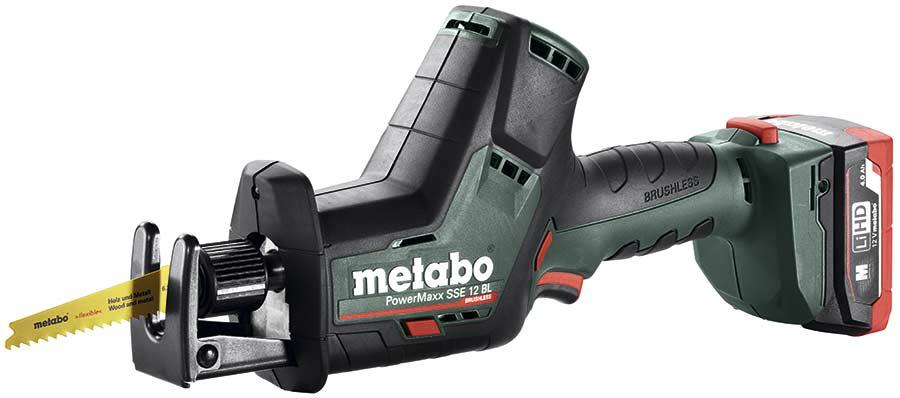 Metabo Метабо SSE 12 BL аккумуляторная сабельная мини пила бесщеточный двигатель мотор