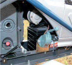 Мини трактор Скаут Т 25 Generation II Scout рычажный выключатель массы