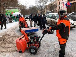 Снегоотбрасыватель Хускварна Husqvarna ST 227P выставка Российский лес 2019 Вологда 4 6 декабря