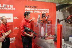 Milwaukee MX Fuel аккумуляторная установка алмазное сверление сверлильная машина дрель Милуоки конференция 2020 Монте Карло Монако Monte Carlo Monaco