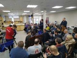 Белмаш Belmash демозал Юрий Бажан столяр блогер станки 22 февраля 2020 встреча подписчик