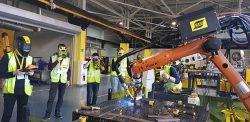 промышленная сварка робот ESAB ЭСАБ Промышленная робототехника