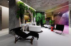 Идеальный дом Perfect Home Multi выставка MosBuild 2020 ванная Laufen архитектор дизайнер Анастасия Панибратова