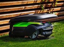 робот-газонокосилка Greenworks