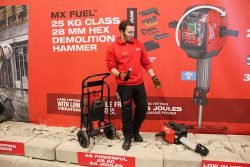 Конференция Milwaukee 2020 MXF DH2528H 601 MX Fuel аккумуляторный отбойный молоток тележка отбойник новый новинка Монте Карло Монако