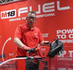Конференция Milwaukee 2020 M18 Fuel FCOS230 121 аккумуляторная отрезная машина бетонорез новая новинка Монте Карло Монако