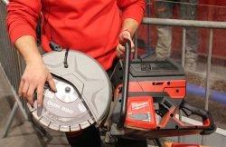 Конференция Milwaukee 2020 MXF COS350 601 MX Fuel бетонорез аккумуляторный отрезная машина Монте Карло Монако