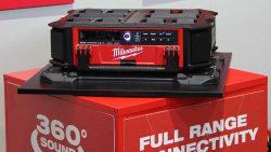 Конференция Milwaukee 2020 Packout аккумуляторное радио DAD зарядное устройство M18PRCDAB новое новинка Монте Карло Монако