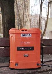 Patriot PT-16AC Аккумуляторный ранцевый опрыскиватель