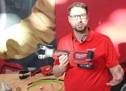 Конференция Milwaukee 2020 M18 ForceLogic HDCT безматричный инструмент обжим кабеля аккумуляторный One Key новый новинка Монте Карло Монако