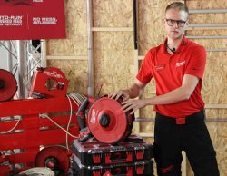 Конференция Milwaukee 2020 M18 Fuel FPFT аккумуляторный инструмент протяжка кабеля