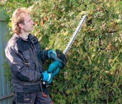 Makita Макита DUH523Z DUH523 аккумуляторный кусторез ножницы куст тест режущая садовая техника