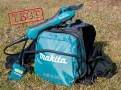 Makita Макита DUP361Z DUP362Z секатор аккумуляторный ранцевый тест режущая садовая техника
