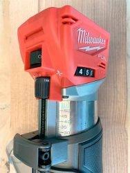 Milwaukee Милуоки M18 FTR аккумуляторный кромочный фрезер фрезерная машина регулятор частоты вращения фрезы