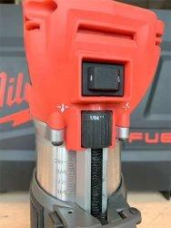 Milwaukee Милуоки M18 FTR аккумуляторный кромочный фрезер фрезерная машина регулятор глубины погружения фрезы