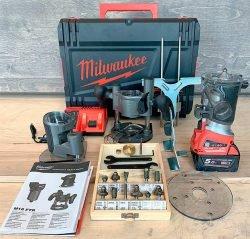Milwaukee M18 FTR Милуоки аккумуляторный кромочный фрезер фрезерная машина