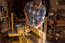 Фуговальный станок Powermatic строгание четверти изготовление фальца шпунта притвора