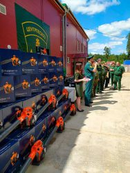 25 бензомоторных воздуходувов Husqvarna 125B борьба лесные пожары МО Московская область Подмосковье