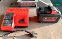 Milwaukee M18 Fuel FMS305 Милуоки аккумуляторная торцовочная пила тест аккумулятор High Output 12 А ч зарядное устройство ЗУ