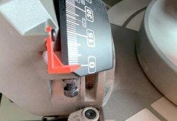 Milwaukee M18 Fuel FMS305 Милуоки аккумуляторная торцовка тест шкала угла наклона диска