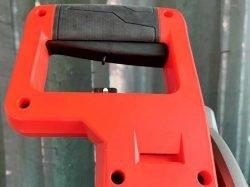 Milwaukee M18 Fuel FMS305 Милуоки аккумуляторная торцовка тест основная рукоятка