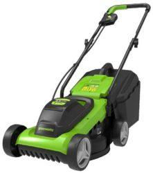 Greenworks G24LM32K2 газонокосилка аккумуляторная