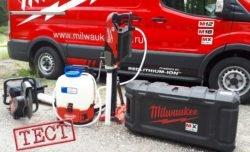 Тест аккумуляторных инструментов Milwaukee MX Fuel