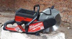 Аккумуляторная отрезная машина Milwaukee MXF COS350