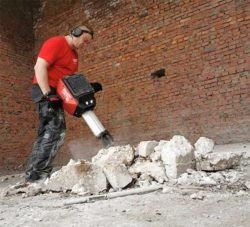 Отбойный молоток бетонолом Milwaukee MXF DH2528H аккумуляторный