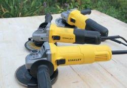 Угловые шлифовальные машины Stanley SG6125 SG7125 STGS 9125 RU