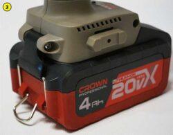 Crown B3 Plus аккумулятор
