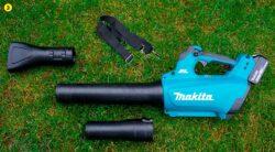 Makita DUB184 Макита DUB184Z аккумуляторная воздуходувка тест комплектация воздуходув