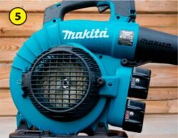 Makita Макита DUB363 DUB363ZV аккумуляторная воздуходувка пылесос тест решетка крыльчатка измельчитель воздуходув