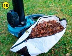 Makita Макита DUB363 DUB363ZV аккумуляторная воздуходувка пылесос тест мешок мусоросборник измельчитель воздуходув