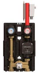 Термостатическая насосная группа со смесителем и байпасом